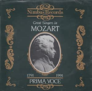 Prima Voce: Great Singers In Mozart
