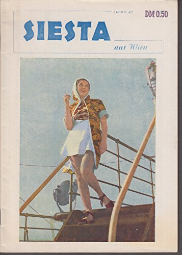 (SIESTA aus WIEN German magazine ca 1949 studio nudes poetry fiction +)