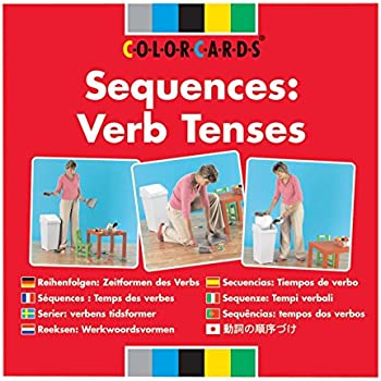 Amazon.com: Color Cards: Sequencers: Verb Tenses: Health ...
