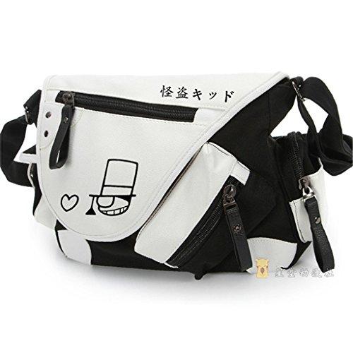 YOYOSHome Anime Detective Conan Cosplay Backpack Messenger Bag Shoulder Bag