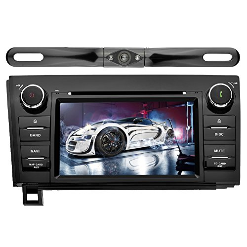 YINUO In Dash Android 7.1.1 Double Din 7 Inch Capacitive Touch Screen Car Stereo DVD Player GPS Navigation with Bluetooth for Toyota Tundra/Sequoia,with Reverse Camera.7 Color Button illumination For Sale