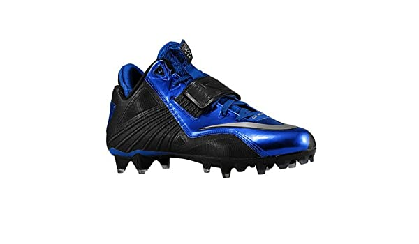 size 40 c4356 7c4ed Nike Men s CJ81 Calvin Johnson Elite TD Blue Black Football Cleats 643195  015 Size 10.5  Amazon.ca  Shoes   Handbags