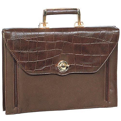 Bürotasche Aktentasche Arbeitstasche Handtasche Umhängetasche Businesstasche Dokumententasche Damen Braun