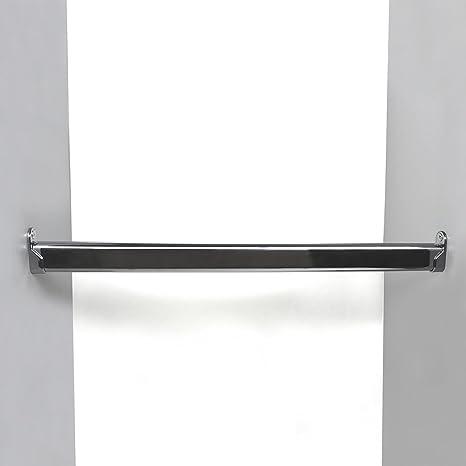 Turbo Kleiderstange / Schrankrohr Set für Garderobe Kleiderschrank oder KH74