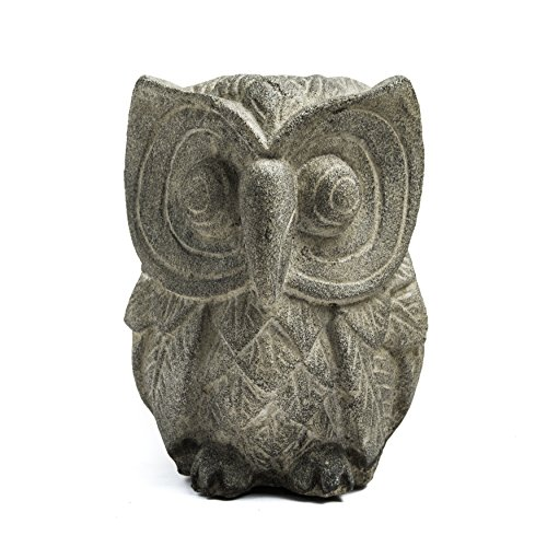 Repose ST102315 Alluring Owl Outdoor Statues