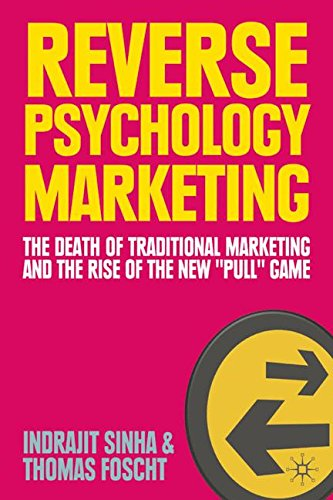 """Reverse Psychology Marketing: The Death of Traditional Marketing and the Rise of the New """"Pull"""" Game"""