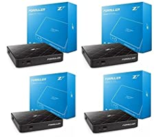 { PACKAGE OF 4 } Formuler Z7+ Plus 4K 60fps Quad Core 2GB DDR4 Android 7.1