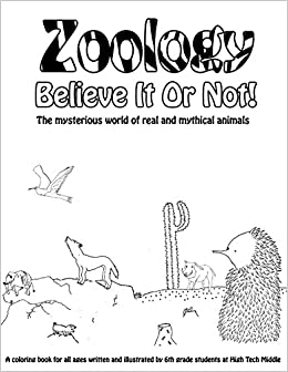 Amazon.com: Zoology Believe It Or Not!: A Coloring Book Of Real And ...