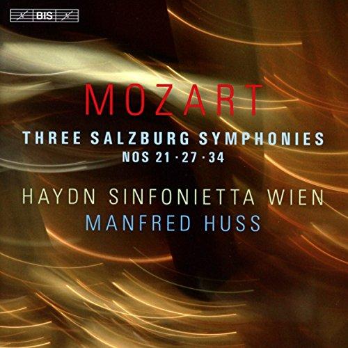 Mozart: Three Salzburg Symphonies Nos. 21, 27 & 34 (Wa Online Shopping)