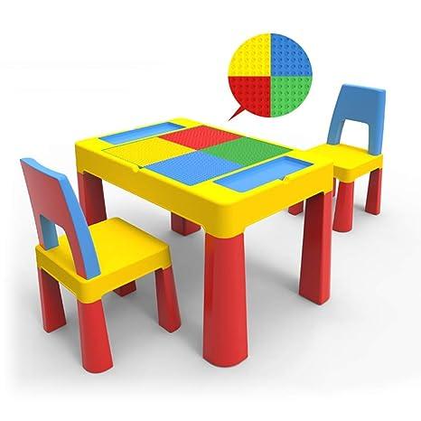 Fine Amazon Com Desk Childrens Table And Chair Set Kindergarten Inzonedesignstudio Interior Chair Design Inzonedesignstudiocom