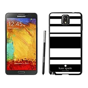 Personalized Design Kate Spade Samsung Galaxy Note 3 Black Hard Plastic Phone Case 003