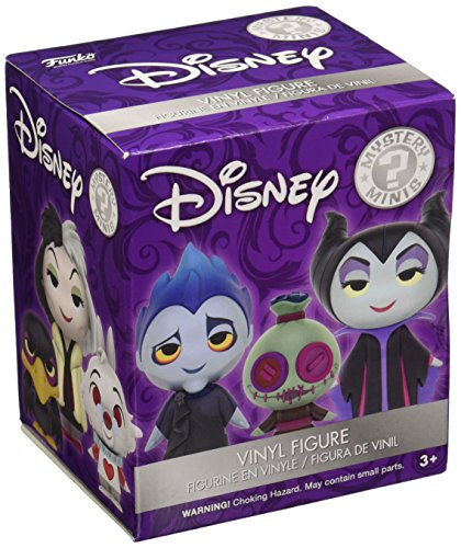 Funko Mystery Mini: Disney Villains & Buddies One Mystery Action Figure -