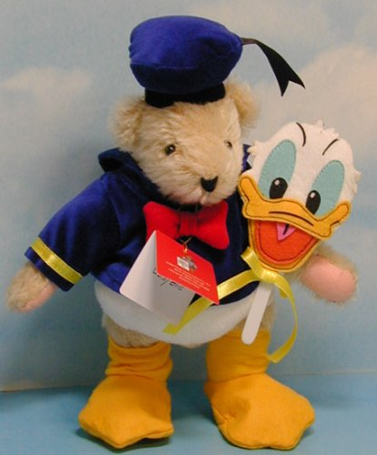 VHTF Muffy Vanderbear Walt Disney World Limited Edition Mohair Donald Duck Bear NIB Ebay American Dolls