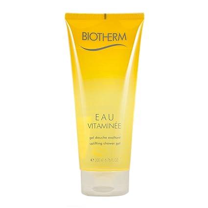 Biotherm vitamina agua Mujer/Mujer, gel de ducha que eleva, Paquete 1er (