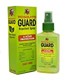 Mosquito Guard Repellent Spray (4 FL Oz ) Made with 100% All Natural Plant Based Ingredients - Citronella, Lemongrass Oil , NON- TOXIC, NO DEET. Safe for kids and adults, Insect and Bug Repellent