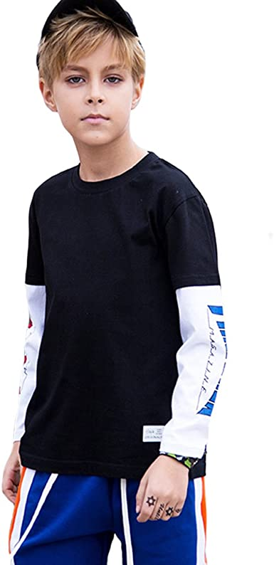 black long sleeve shirt kids