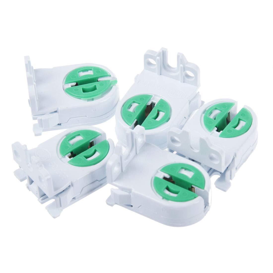T5 Lamp Holder Lamp Socket Tube Accessory AC 100-250V For Aging Test 20pcs T5