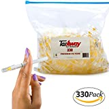 Taraway Cigarette Filters | Food Grade Disposable Plastic Filter Tips - Pack of 330 Filter Cartridges