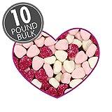 jelly belly petite sour hearts - Jelly Belly Valentine's Petite Sour Gummi Hearts 10 Pounds Bulk