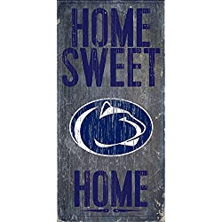 "Fan Creations Penn State Nittany Lions Wood Sign - Home Sweet Home 6""x12"""