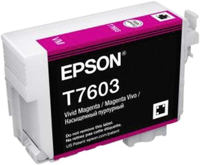 Epson T76034010 Tintenpatronen 26 Ml Magenta Bürobedarf Schreibwaren
