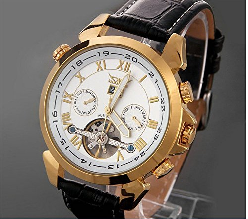 Nice Watches For Men Automatic Mechanical Luxury Flywheel Men Wrist Watch