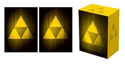Amazon Com Legion Iconic Triforce Deck Box 100 Matching Matte