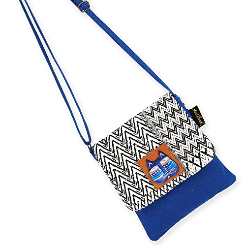 Over Woven Azul Laurel Burch B Crossbody Bag Flap 6pEE8qxw4