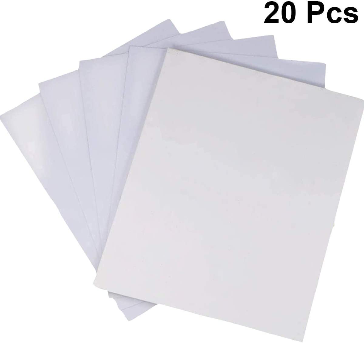 Puzzle Saver Peel Large Clear Puzzle Glue Sheets Transparent Adhesive Backing Sheets Puzzle Preserver for Framing 5 Puzzles 20 Sheets