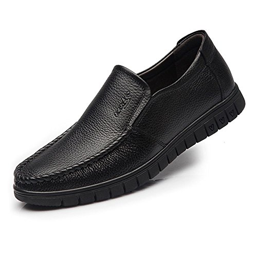Outsoles shoes Warm 2018 Formal color On Deck Zapatos De Slip Tamaño Soft Fang Eu Negro Gran Loafer Hombre Hombre Bn Oxfords 42 OgdFxTwq