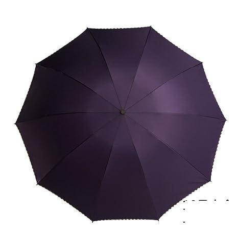 Sombrillas/plegar,paraguas gigante/reforzar,doble uso,color s¨®