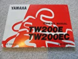 1992 1993 Yamaha TW200E Owners Manual TW 200 E and EC