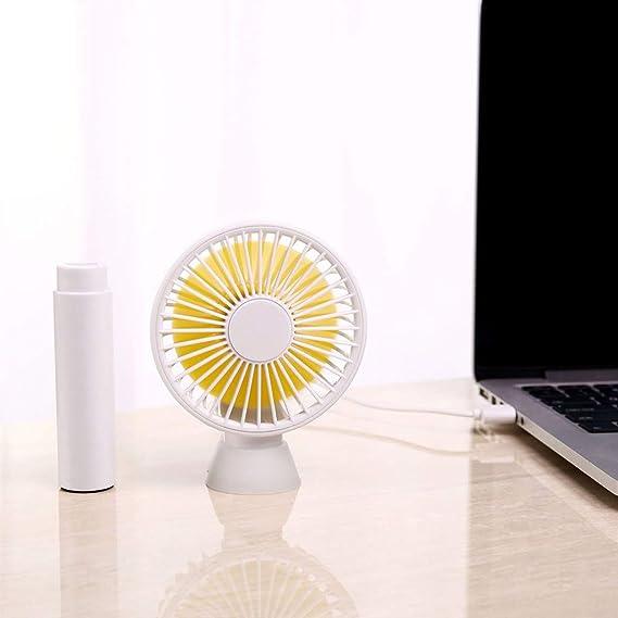 Ventilador de Mesa Pequeño Portátil y Silencioso Mini Ventilador ...