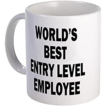Amazon Com World S Best Entry Level Employee Funny Coffee