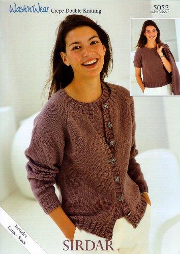 Sirdar Wash N Wear Dk Ladies Knitting Pattern 5052 Amazon