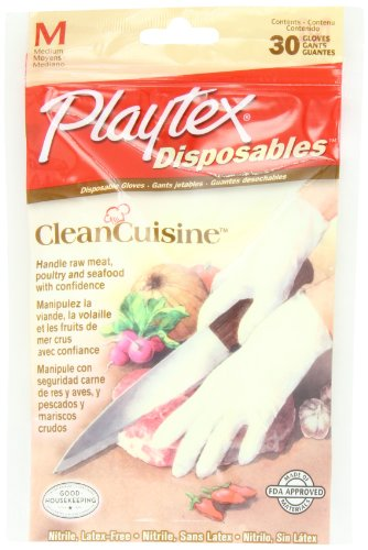 Playtex CleanCuisine Disposable Gloves Medium product image