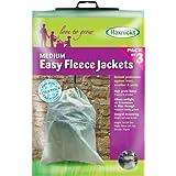 Tierra Garden 50-8010 3-Pack Haxnicks Easy Fleece Jacket, Medium