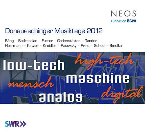 Donaueschinger Musiktage 2012 / Various (Hybrid SACD, 3PC)