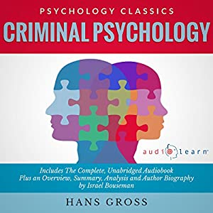 Criminal Psychology Audiobook
