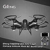 UAV, Hometom Gteng T905HW Wifi FPV 720P 2.4G 6 Axis Gyro 3D Flip Headless Altitude Hold