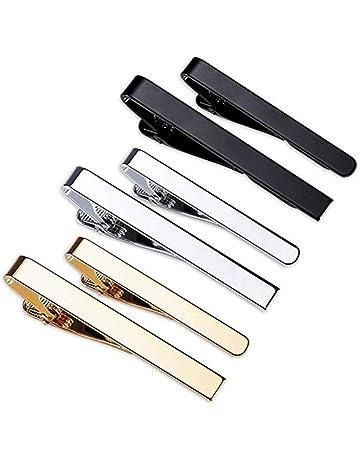 YADOCA 12 Pcs Pince /à Cravate pour Homme Classique Cravate Bar Clips Set Affaires Mariage avec Bo/îte-Cadeau
