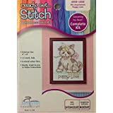 Janlynn Puppy Love Counted Cross Stitch Kit - 6 X 8 Inches by Janlynn