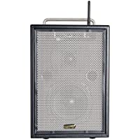 Sunburst Gear MM Series M3BR8 Portable All-in-One Rechargeable Battery Powered Monitor Speaker with Bluetooth