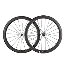 Sunrise Bike T700c 50mm Matte Clincher Wheelset Pillar Spoke Bike Road with DT350 Hub