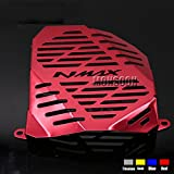 Red Motorcycle Radiator Grille Guard Cover