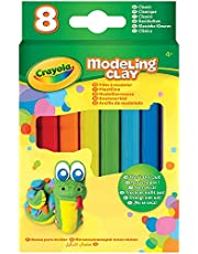 Crayola Modeling Clay, 4.8 Ounce Pack, Set of 8 Classic Colors