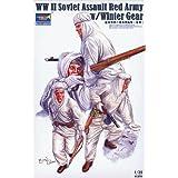 1/35 Soviet winter equipment reconnaissance team set (japan import)