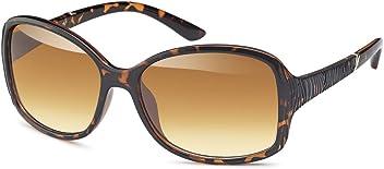 Elegante Vintage Kunststoff-Sonnenbrille in Schmetterlings-Form - Im Set mit Etui