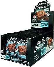 Brownie de Chocolate com Coco Sem Açúcar Sem glúten Sem lactose Belive Display com 10 unidades de 40g