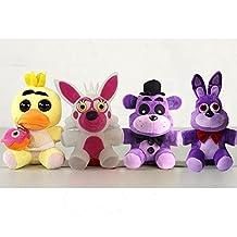 Five Nights At Freddy's 4 Kawaii Fnaf World Freddy Fazbear Bear Foxy Bonnie Chica Plush Stuffed Animal Kids Toys Peluche Doll